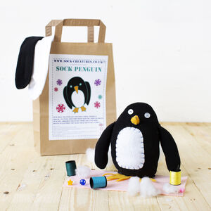 Sock Penguin Craft Kit