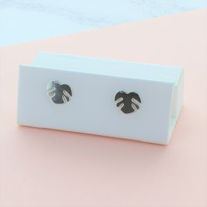 Adams Rib Stud Earrings