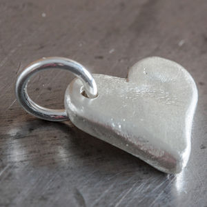 Personalised Small Heart Charm