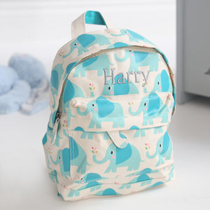 Elephant Backpack - bags, purses & wallets