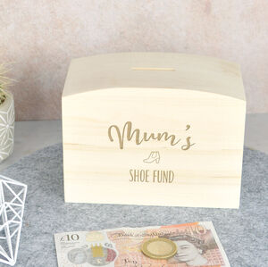 Shoe Fund Money Box