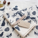 A Walk In The Woods Tea Towel