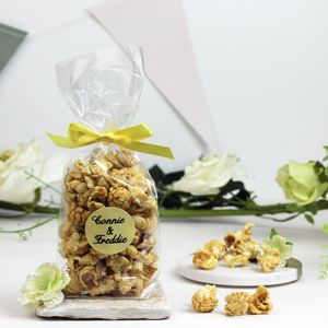 Personalised Gin And Tonic Popcorn Wedding Favours - chocolates & confectionery