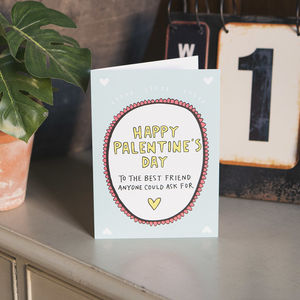 Happy Palentine's Day Card - cards & wrap