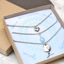Personalised Stacking Birthstone Necklace
