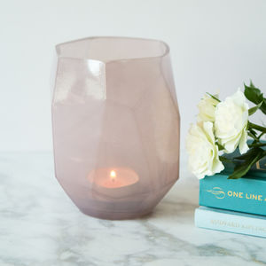 Faceted Tea Light Holder Or Vase - kitchen