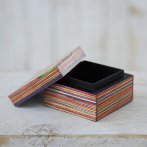 Dhari Fair Trade Handmade Trinket Box - jewellery storage & trinket boxes