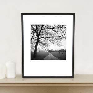 Greenwich Park, London, Art Print