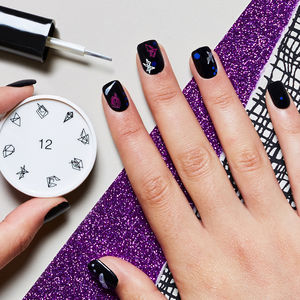 Unpredictable Nail Art Stamp