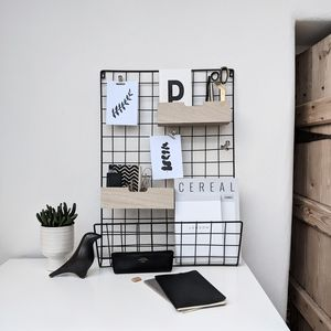 Wire Memo Board - magazine racks