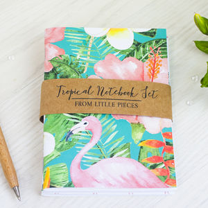 Tropical Notebook Set