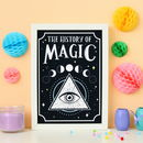 History Of Magic Print