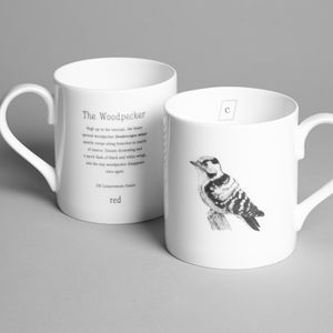 Woodpecker Mug - summer sale