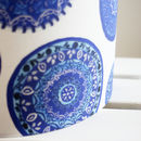 Blue And White Porto Plates Pendant Lampshade