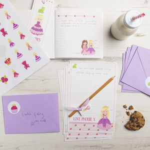Personalised Princess Stationery Bundle