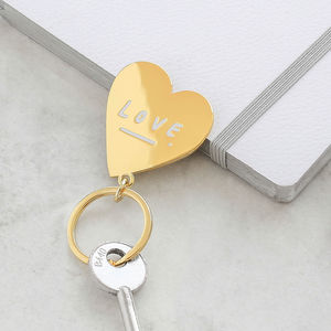 Love Heart Keyring - gifts sale