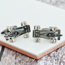 Black Formula One Cufflinks