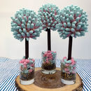Bubblegum Pink And Blue Cola Bottle Tree