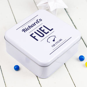 Personalised Cycling Tin - lunch boxes & bags