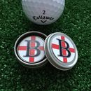 Personalised Initial St George Golf Ball Marker