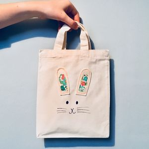 Easter Rabbit Egg Hunt Bag