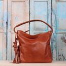 Maddy Slouchy Leather Hobo Handbag