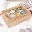 Personalised Tea Lover's Storage Box