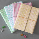 Recycled Pastel Geometric A5 Lined Notebook