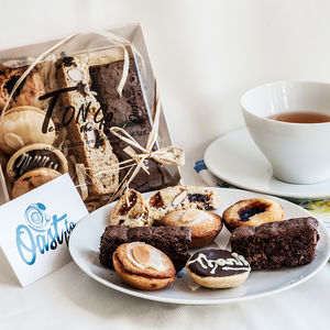 Personalised Gluten Free Tea On The Go Selection Box - cakes & sweet treats