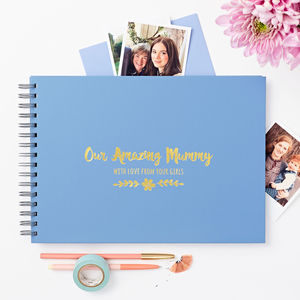 Personalised 'Amazing Mum' Memory Book