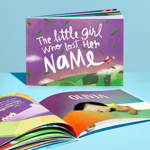 Personalised Children's Story Book - christening gifts