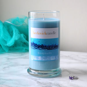 Soapsuds Scented Hidden Ring Candle - home accessories