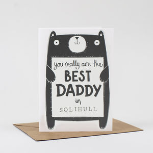 Best Daddy Birthday Card