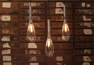 Whisk Pendant Light - office & study