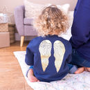 Angel Wings Baby And Children's Christmas Jumper