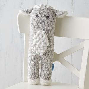 Little Lamb Knit Toy - easter gifts