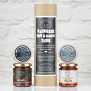 Barbecue Rub And Sauce Tube Gift Set
