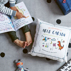Personalised Child's Storybook Cushion - personalised gifts