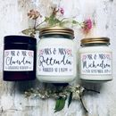Scented Soy Wedding Candle