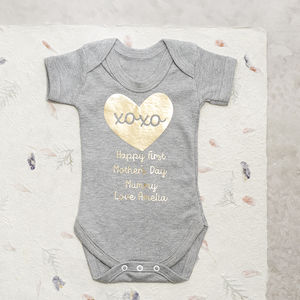 First Mother's Day Baby Grow - clothing