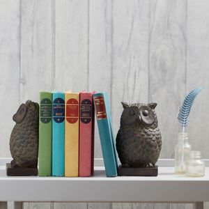 Owl Bookends - book-lover