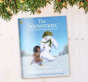 Personalised 'The Snowman™' Book