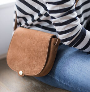 Women's Luxury Suede Mini Crossbody Bag 'Nola S'