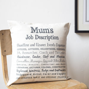 Mum Poem Cushion Cover - new in home