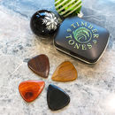 Timber Tones Guitar Picks For Electric Guitar