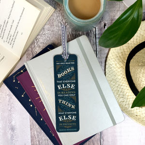 'If You Only' Vintage Style Metal Bookmark