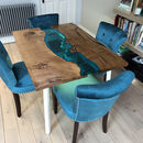 Bijou Glass River Dining Table