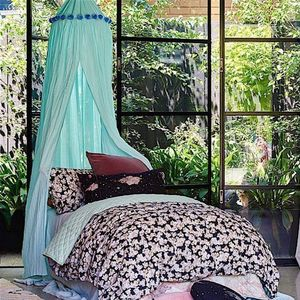 Pom Pom Canopy - curtains