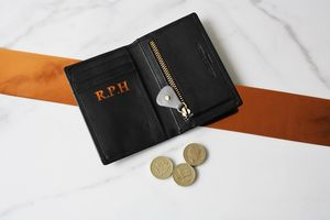 Luxury Kensal Card Wallet - 3rd anniversary: leather
