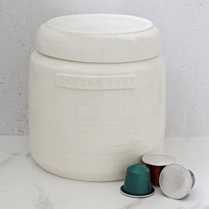 Hand Thrown Porcelain Large Storage Jar